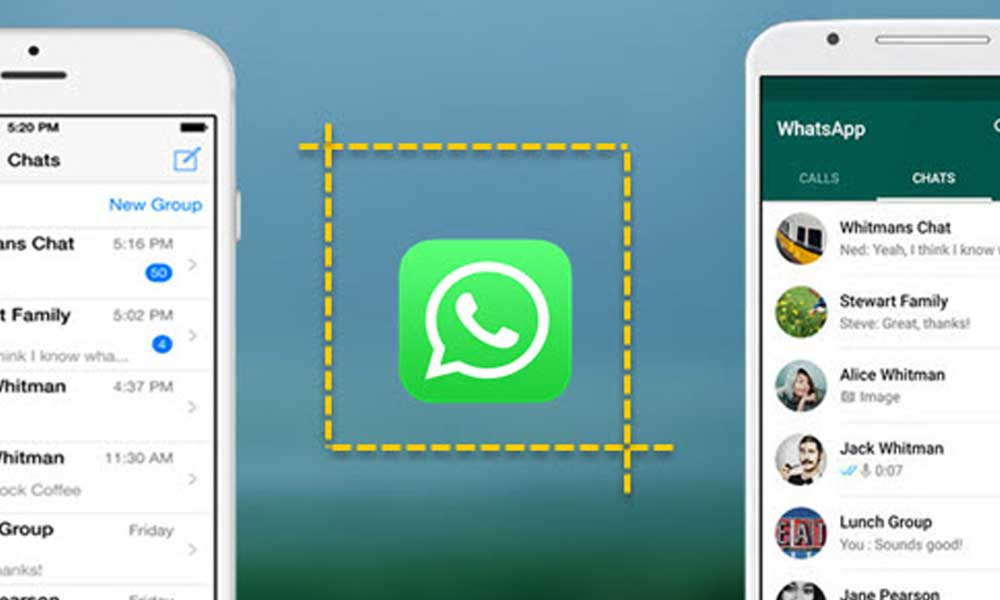 Comment prendre des screenshots de WhatsApp